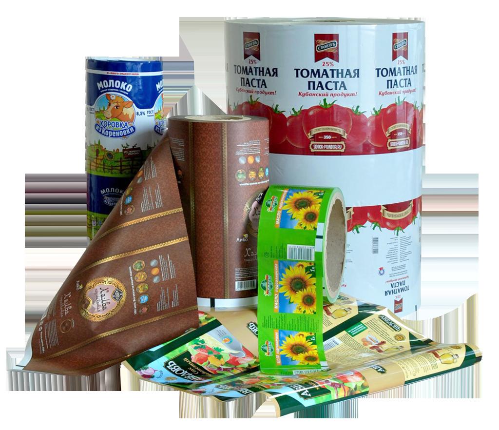 Многослойная этикетка и упаковка